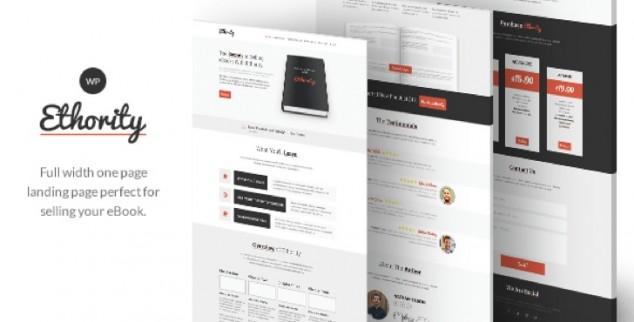 10 шаблонов WordPress для продажи электронных книг