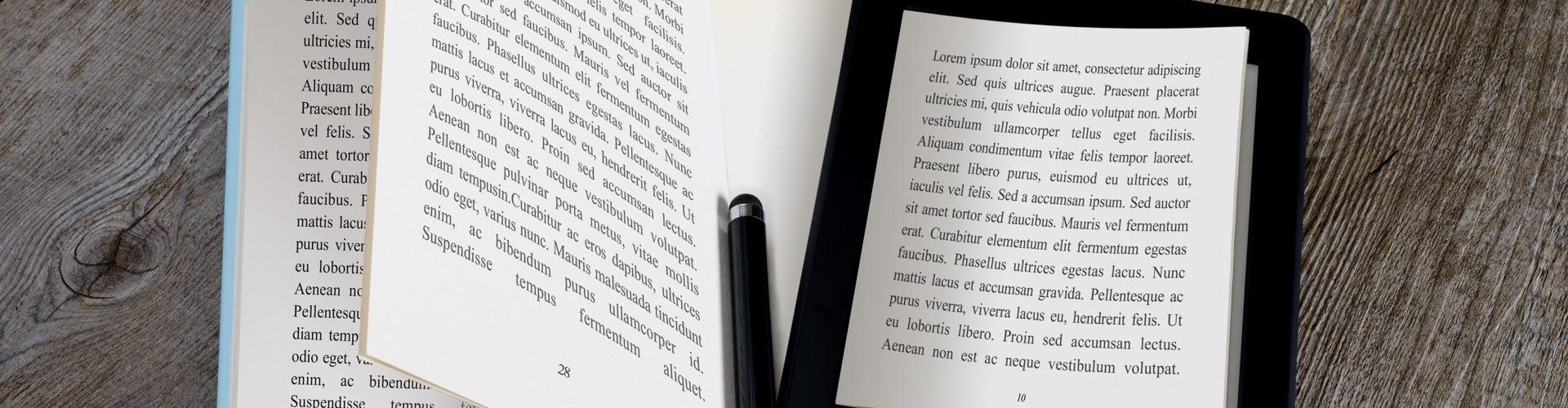 Шаблон электронной книги