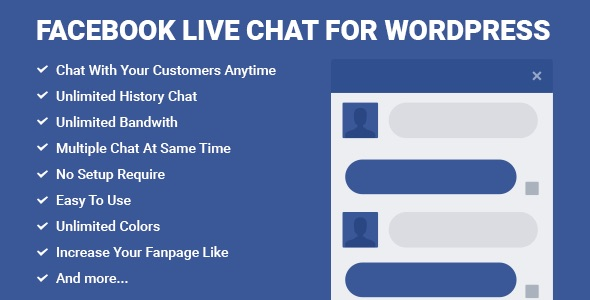 facebook live chat for wordpress-590x300