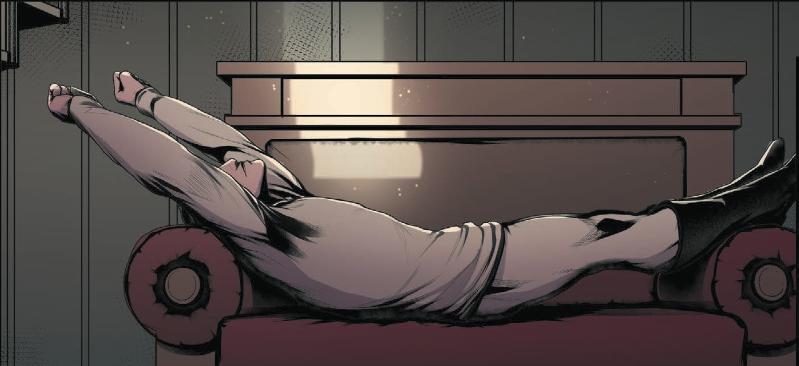 Кадр из комикса «Черновик. Четвертая дверь» от издательства «Белый единорог»
