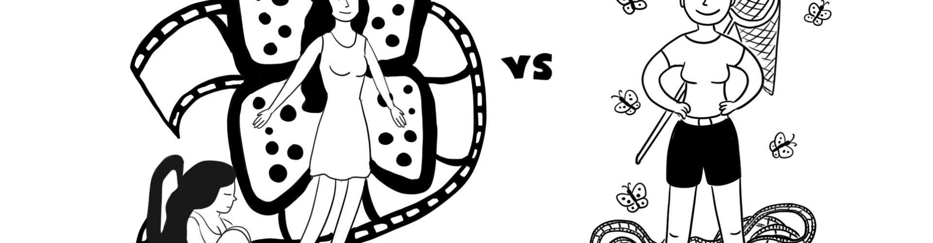 Чем отличаются герои фильмов и сериалов